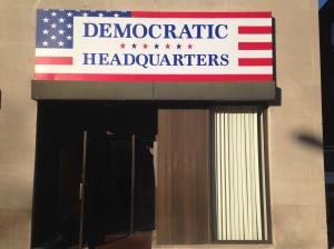 HDQRTS Building Sign